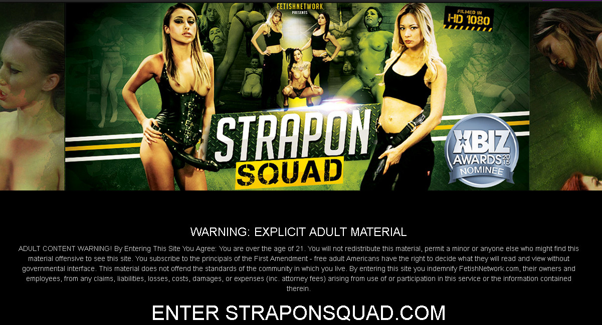 StrapOnSquad SiteRip / All Fetishes / 59 vids