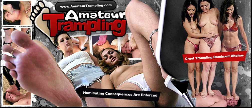 AmateurTrampling SiteRip / Hardcore Sex / 44 vids
