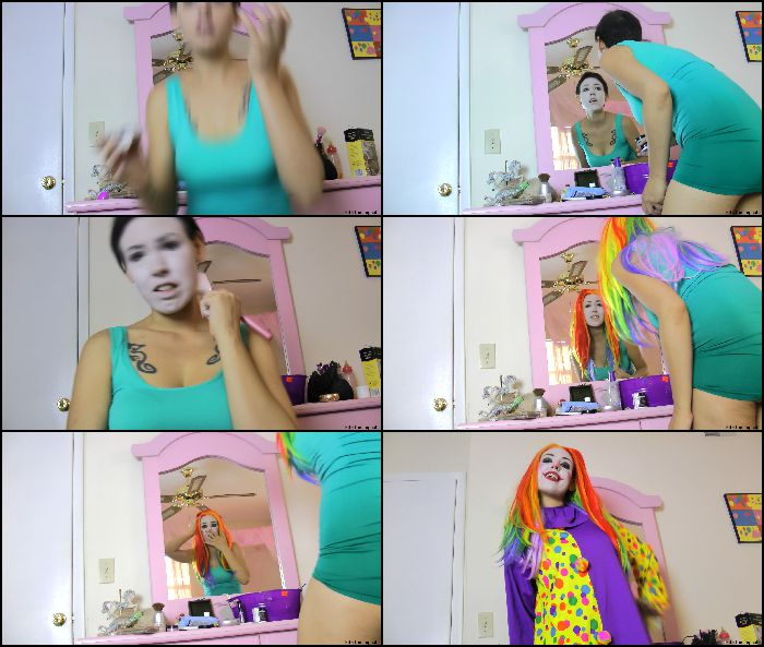 Kitzi Klown - Human To Clown Magic Transformation Preview