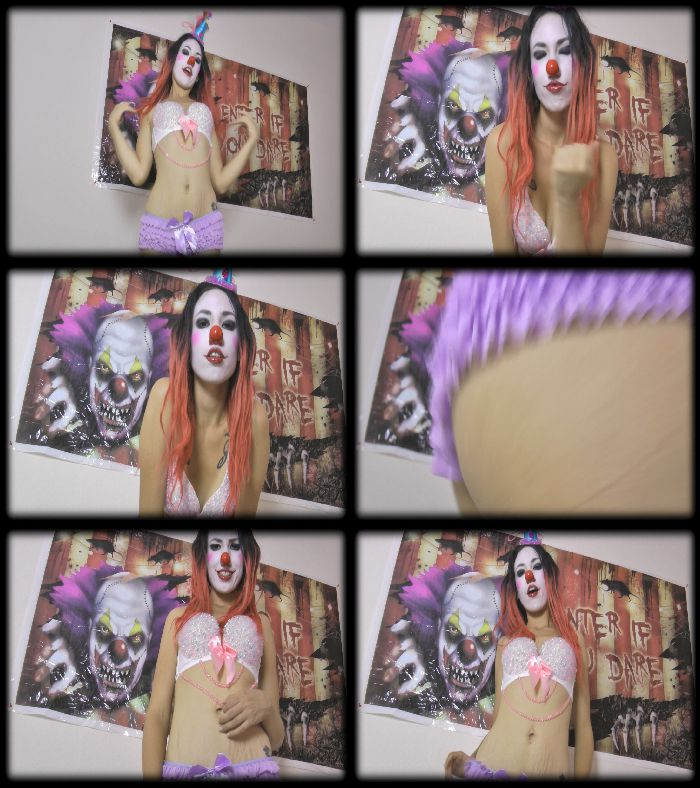 Kitzi Klown - JerkOff Instruction From A Clown Goddess Preview