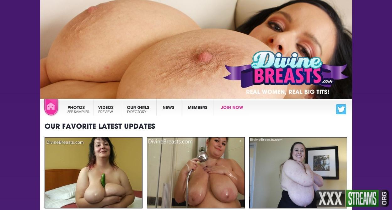 DivineBreasts.com – SITERIP