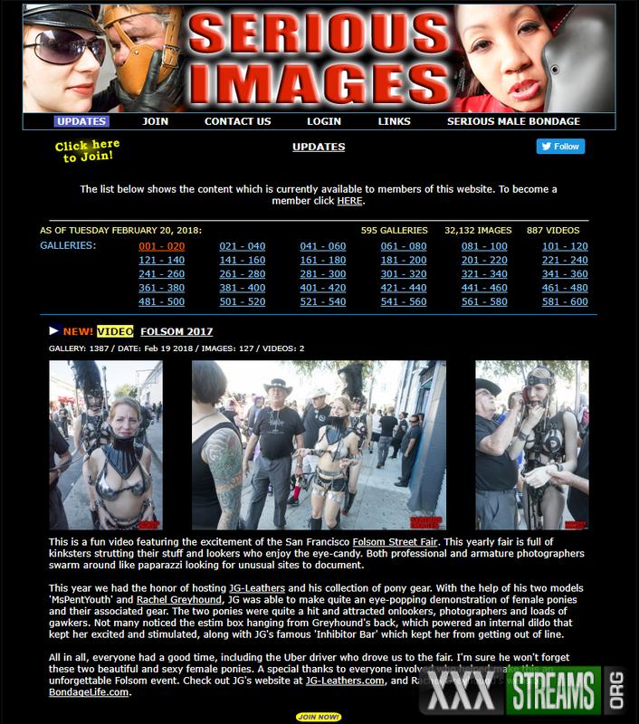 SeriousImages.com – Clips4sale.com – Siterip