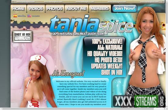 TaniaSpice.com – SITERIP