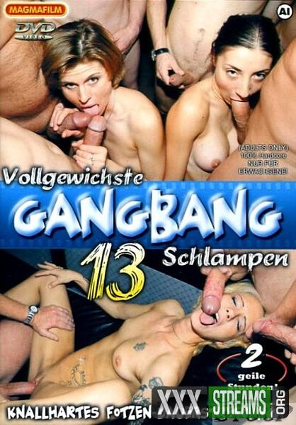 Vollgewichste Gangbang Schlampen 13