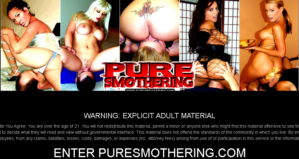 PureSmothering SiteRip / Smother Fetish / 52 vids