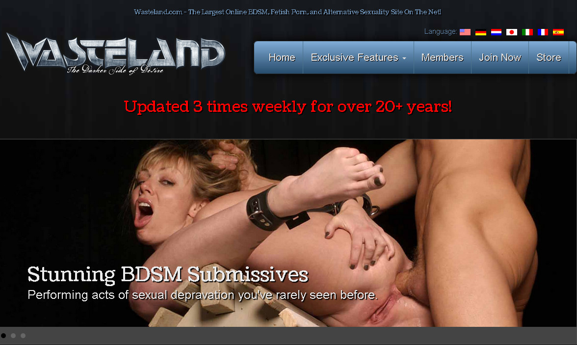 Wasteland update0702 SiteRip / BDSM / 16 vids