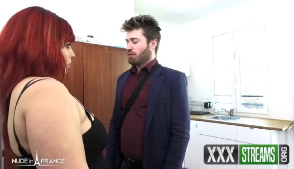 Zora - An angry bbw girlfirend punishes her boyfriend for having failed his job interview and he gets spanked and submitted to all her desires (2018/NudeInFrance.com/SD)