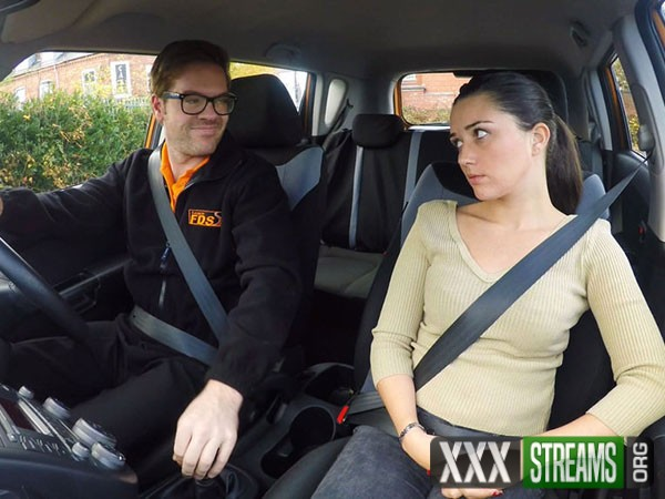 Pixiee Little - Teen Drives Her Instructor Bonkers (FakeDrivingSchool.com/2017/SD)