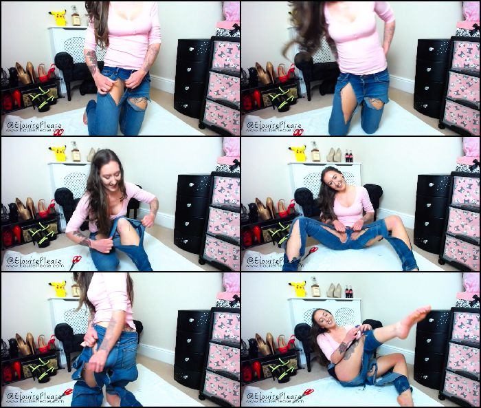elouise-please sisters-jeans-destruction-2018-02-17 Preview