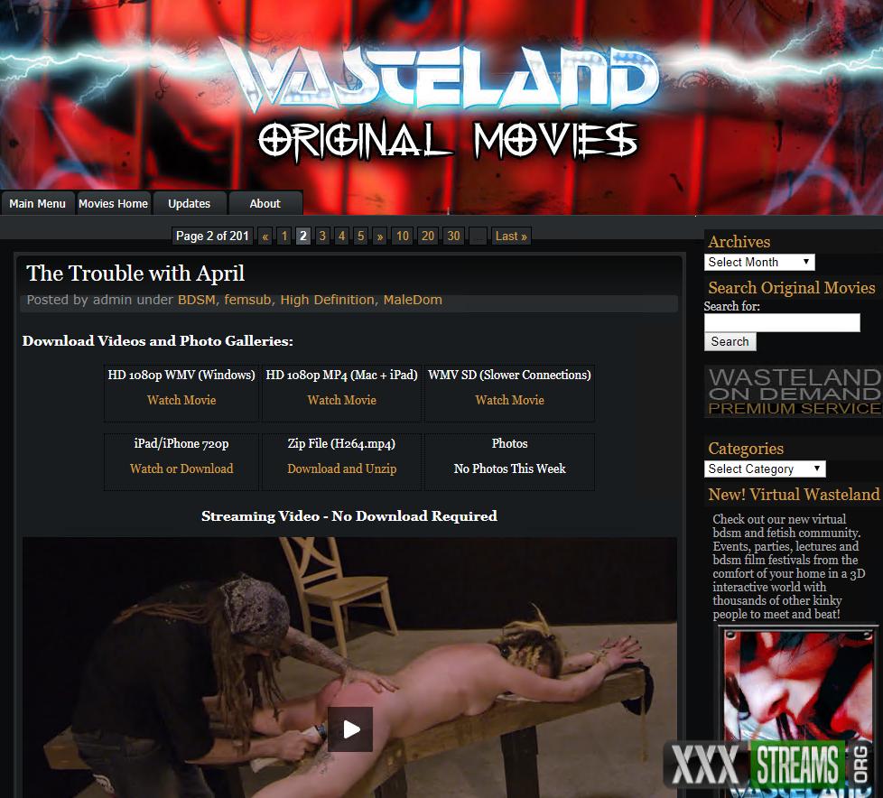 wasteland.com – Siterip