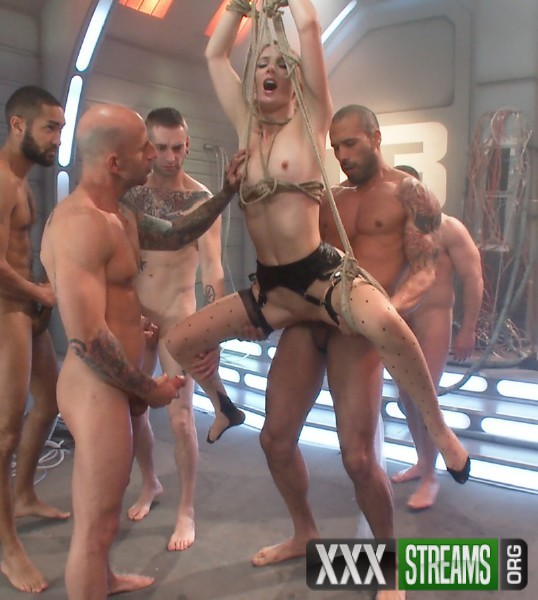 Mona Wales, Gage Sin – Sci-Fi Fantasy: Scientist Babe Engineers Men To Fuck Her Into Oblivion (HardcoreGangBang.com/Kink.com/480p)