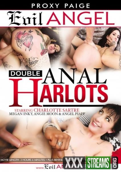 Double Anal Harlots (2018/WEBRip/SD)