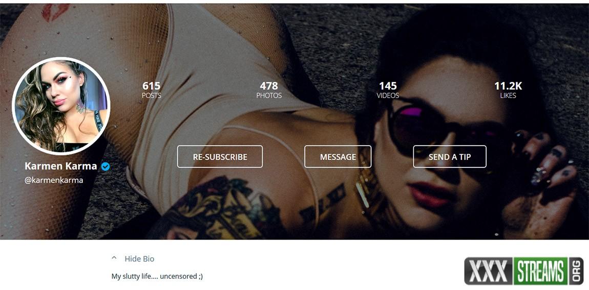 OnlyFans.com – Karmen Karma – Siterip