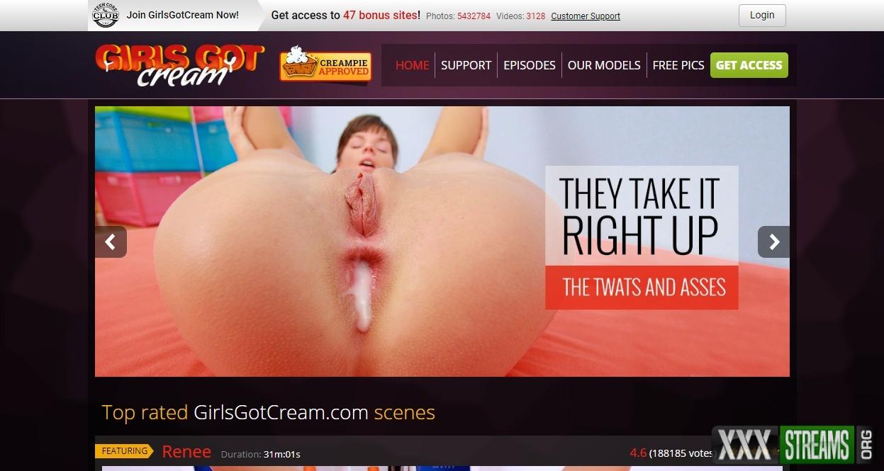 GirlsGotCream.com – SITERIP