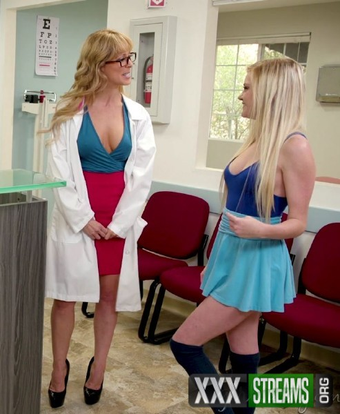 Cherie DeVille, Kenna James – Lesbian Hospital: Waiting Room (2018/GirlsWay.com/480p)