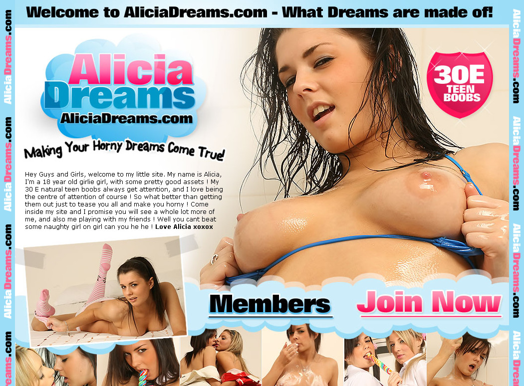 Aliciadreams update0705 SiteRip / Amateur Girls / 16 vids