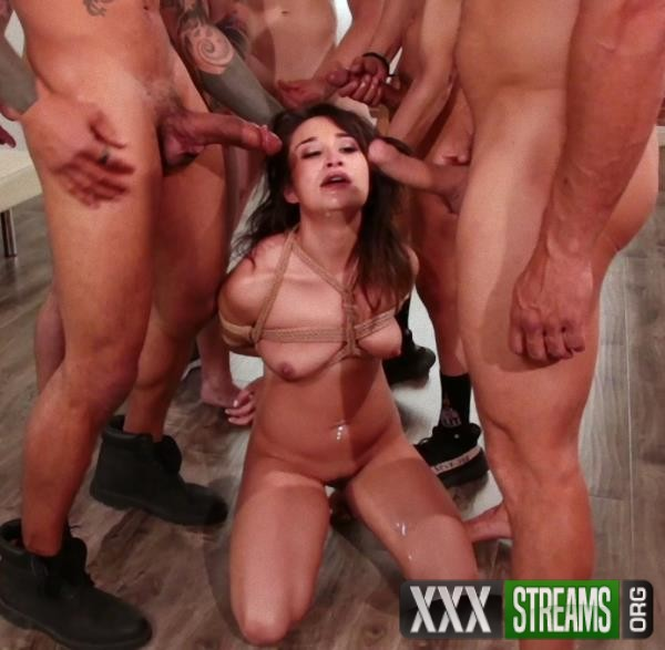 Isabella Nice – Banged by Five Big Dicked Burglars (BoundGangBangs.com/Kink.com/2018/480p)