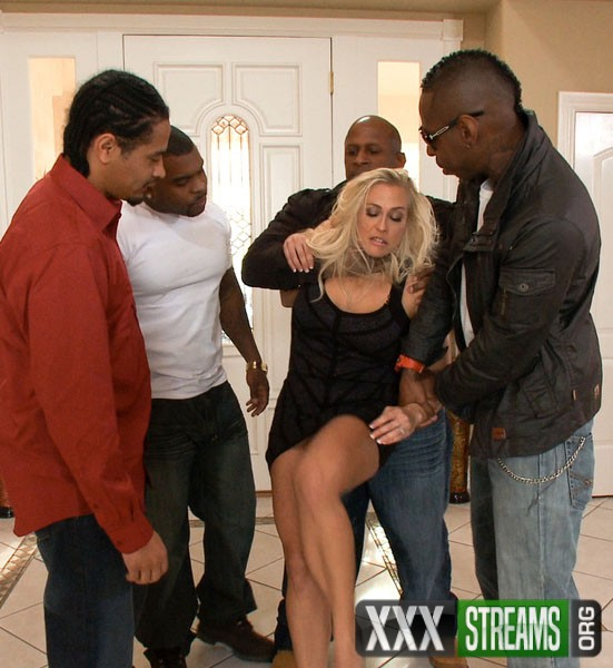 Angel Allwood – Busty MILF Orders Four Big Black Cocks to Fuck While her Husbands Away (HardCoreGangBang.com/Kink.com/480p)