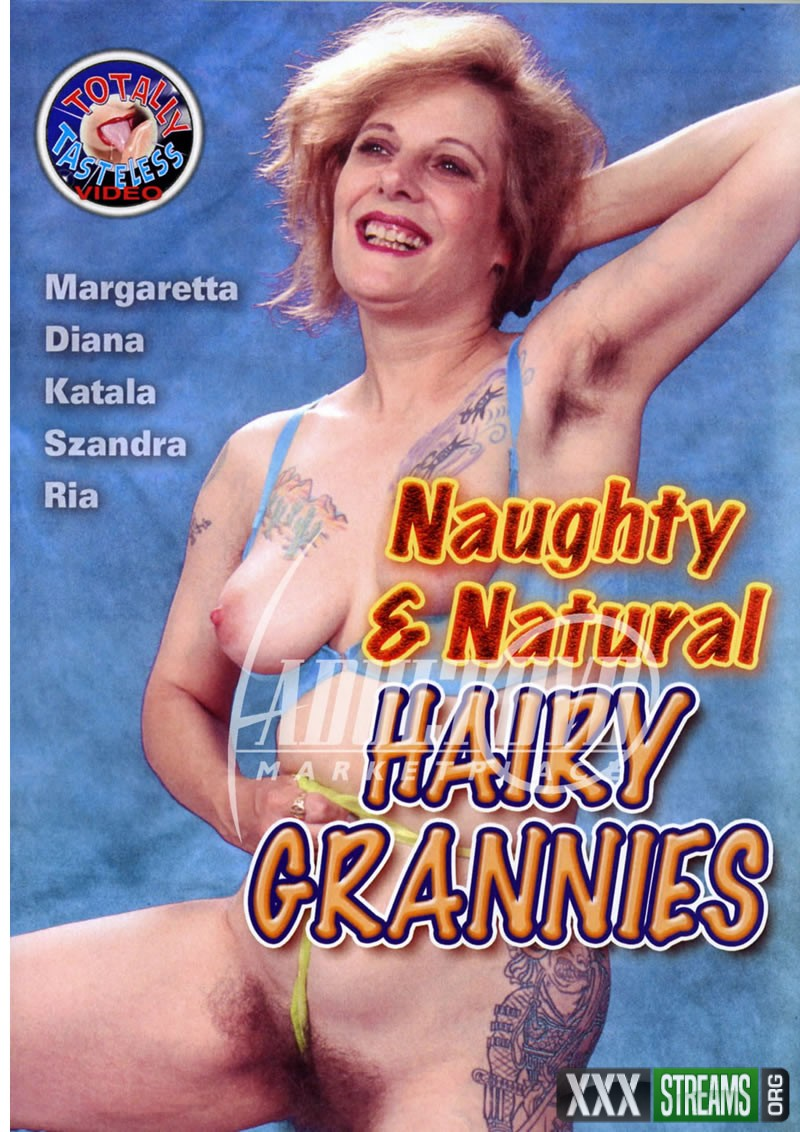 Naughty And Natural Hairy Grannies
