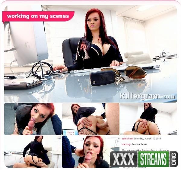 Jasmine James – Working On My Scenes (CumIntoMyOffice.com/Killergram.com/HD)