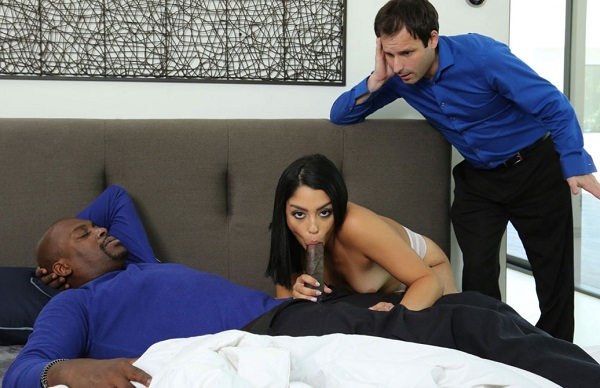 Vanessa Sky – Wimpy Husband Gets Cucked By A Strange Black Man And His Insatiable Latina Wife (2018/SheWillCheat.com/FullHD)