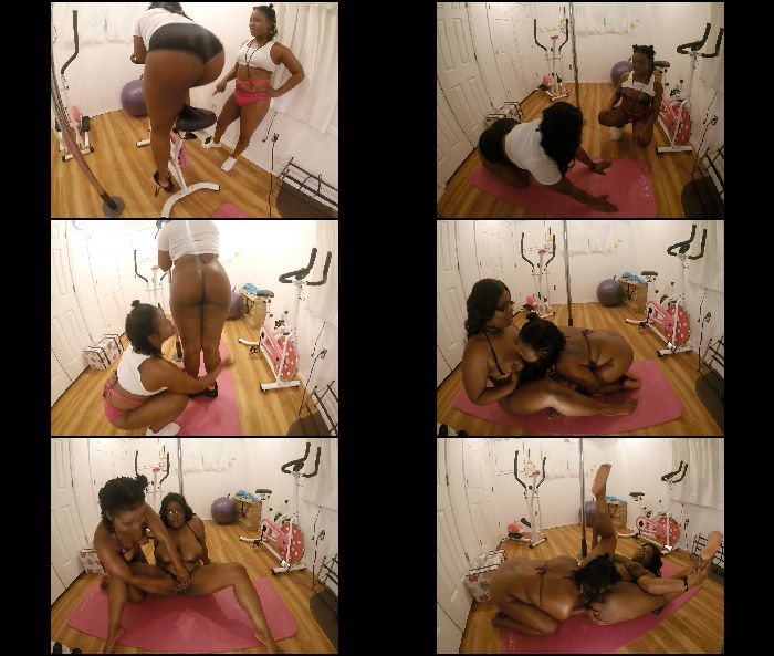 Nikkilatelyxxx – Working Out With Charlie Ray (ManyVids.com)