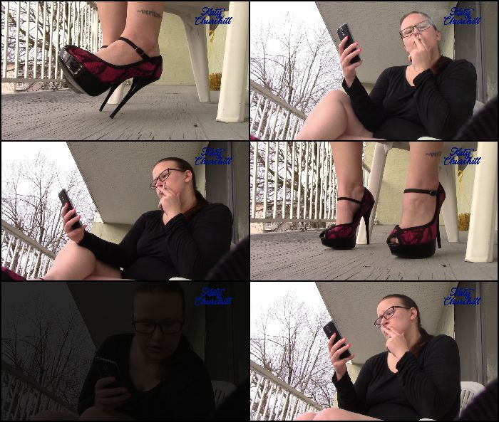 katy-churchill-cigarette-smoking-and-crushing-2018-05-24 X6cxB7 Preview