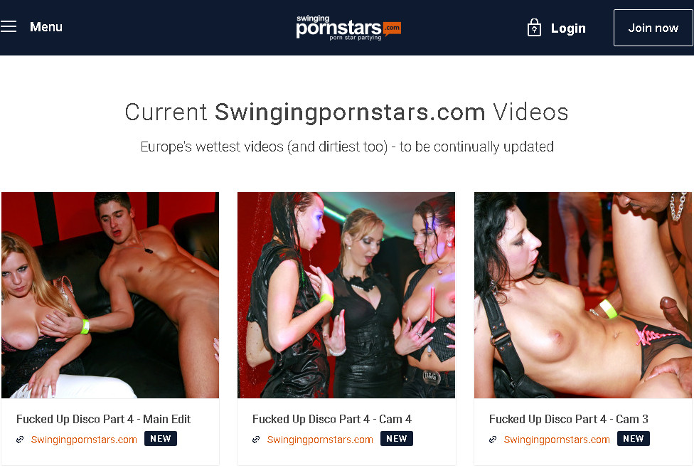Swingingpornstars SiteRip