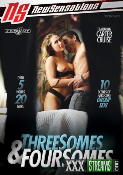 Threesomes and Foursomes (2018/DVDRip)