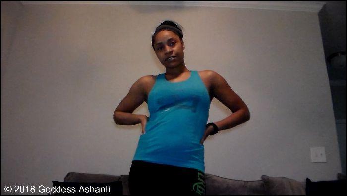 Goddess Ashanti – My Human Chair (ManyVids.com)