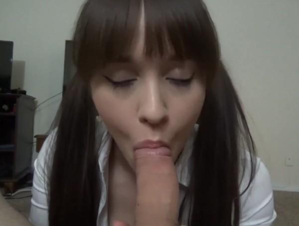 Girlfriend Sucking Dick Facial