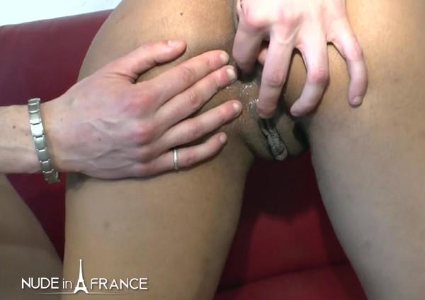 Ebony Stockings Anal Hd