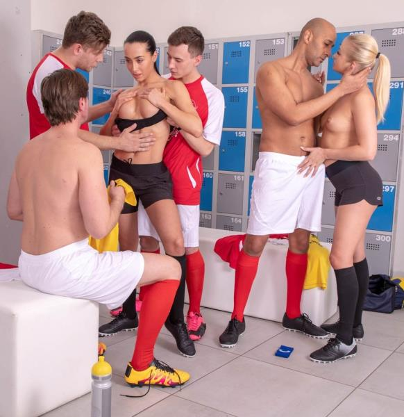 Locker Room Orgy