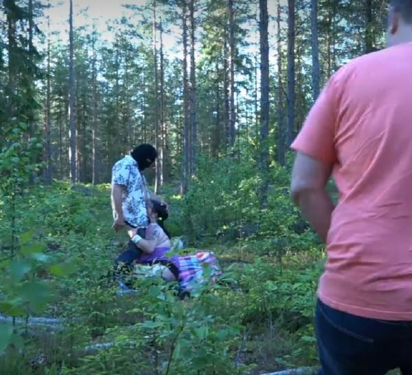 Filippa – Filippa knullad i skogen av tre man (2018/JohanVilde.com/Vildelive.com/HD)