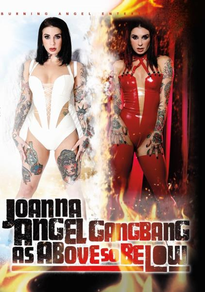 Joanna Angel Gangbang As Above So Below (2018/DVDRip)