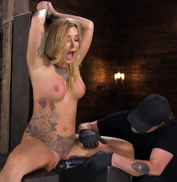 Kleio Valentien – Tattooed Slut Is Tormented In Bondage And Made To Cum? (HogTied.com/Kink.com/2018/HD)
