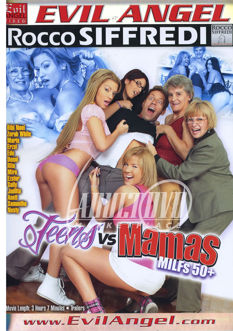 Roccos Teens vs Mamas MILFs 50 Plus