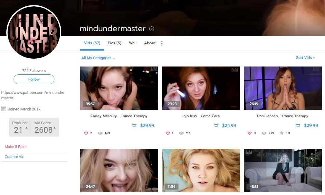 mindundermaster – manyvids.com – Siterip – Ubiqfile