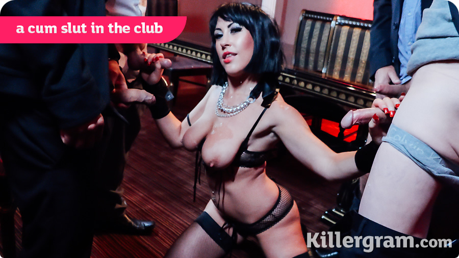 Tyla Moore – A Cum Slut In The Club (Killergram.com)