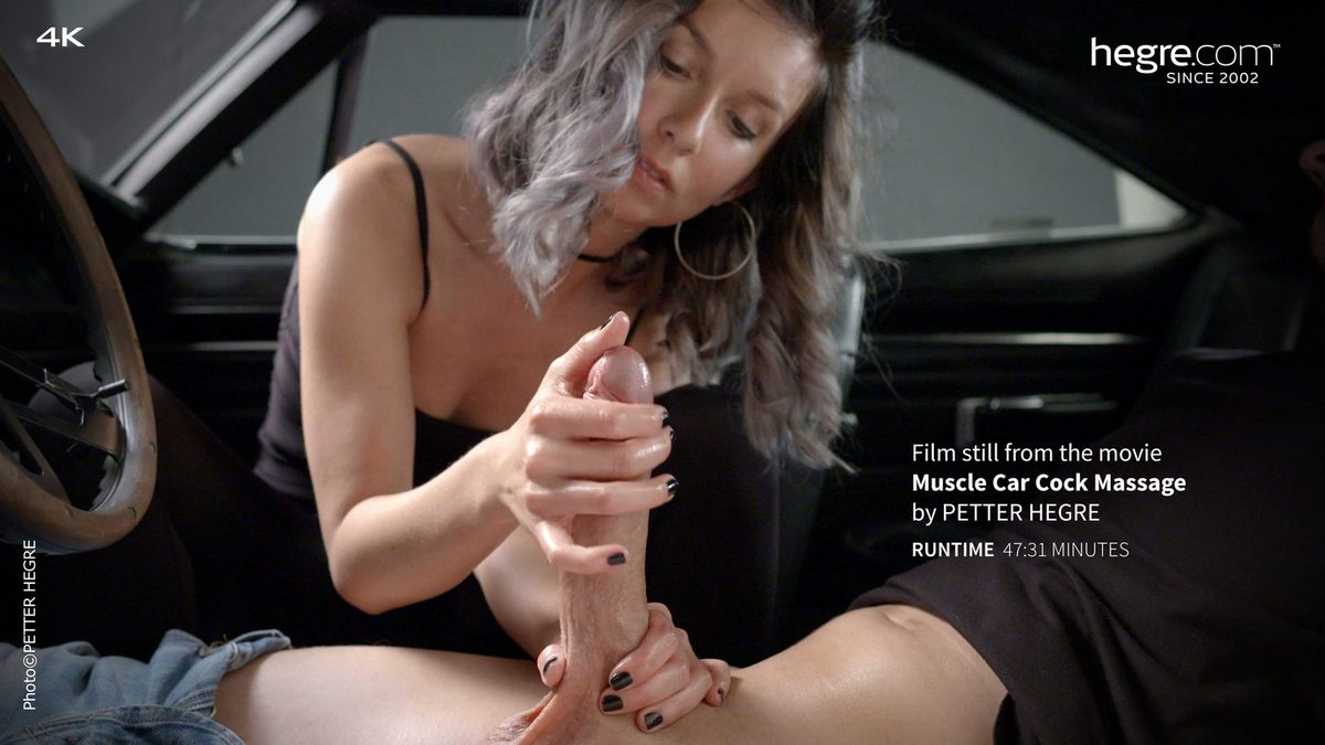 Charlotta – Muscle Car Cock Massage (Hegre.com)