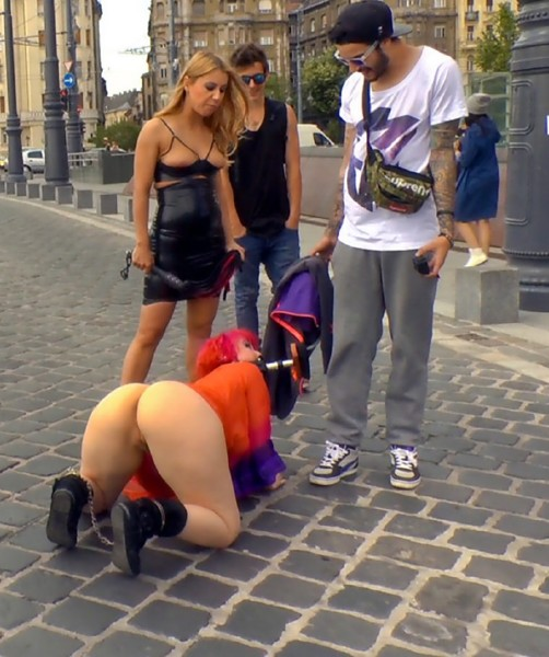 RAM, Proxy Paige, Bella Beretta, Nikki Thorne – Anal Whore Services all the Shoes (PublicDisgrace.com/Kink.com)