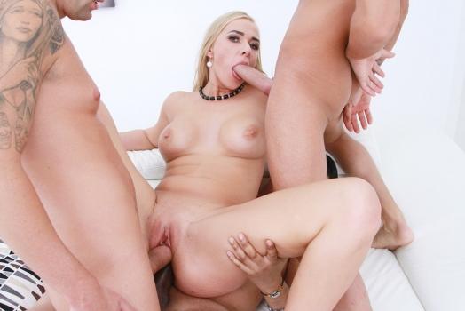 Jessica Shine – first DP DPP with rough balls deep anal, manhandle and cum swallowing SZ2066  (2018/LegalPorno.com/SD)