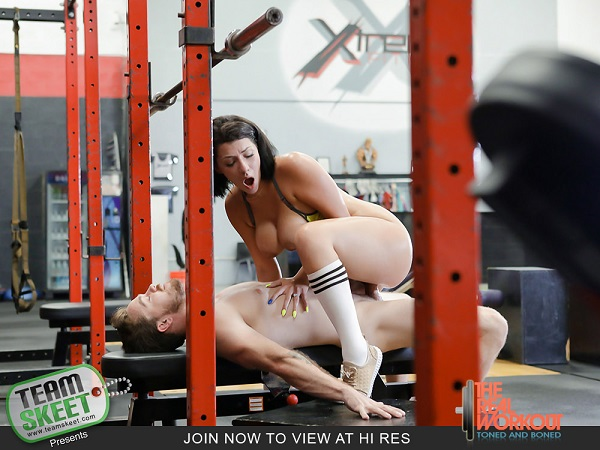 Valentina Jewels – Getting Low On Leg Day (2018/TheRealWorkout.com/TeamSkeet.com/HD1080p)