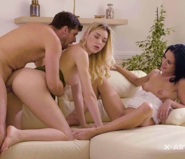 Anny Aurora, Niki – Surprise Sex For Three (X-Art.com/2018/FullHD)
