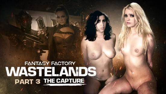 April ONeil, Abigail Mac, Kenna James – Fantasy Factory: Wastelands (Episode 3) (2018/GirlsWay/SD)