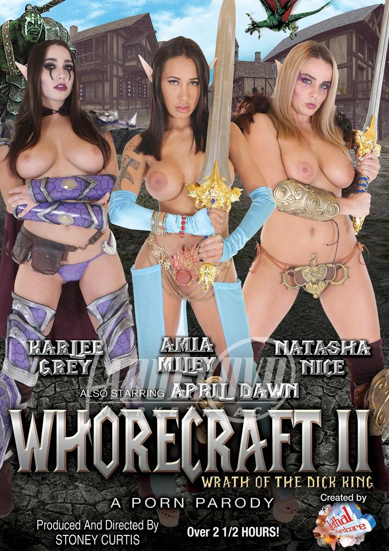 Whorecraft 2 Wrath of the Dick King A Porn Parody (2018)