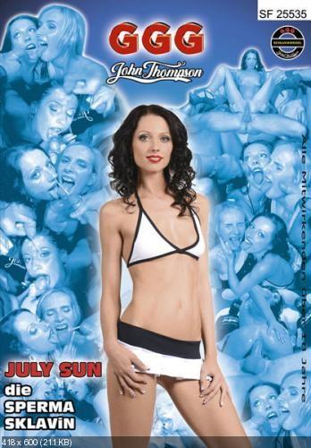 July Sun Die Sperma Sklavin