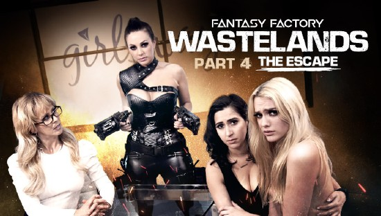 April ONeil, Abigail Mac, Cherie DeVille, Kenna James – Fantasy Factory: Wastelands (Episode 4) (2018/GirlsWay/480p)