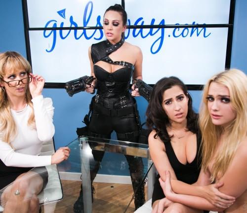 April ONeil, Abigail Mac, Cherie DeVille, Kenna James – Fantasy Factory: Wastelands (Episode 4) (2018/GirlsWay/HD1080p)