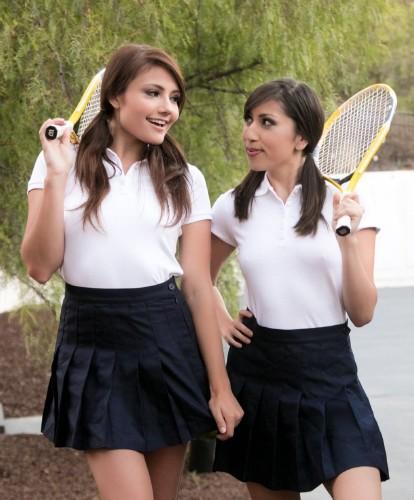 Adria Rae, Judy Jolie – The Tennis Tutor (2018/Webyoung/HD1080p)